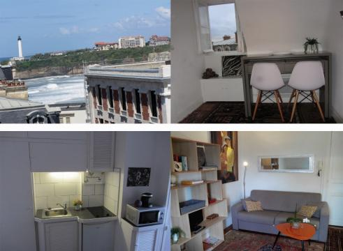 Studio in Biarritz - Vacation, holiday rental ad # 65774 Picture #0