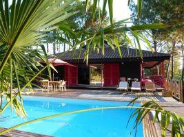 Maison Lacanau - 8 personnes - location vacances  n°65378