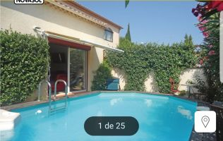 Huis Villeneuve Les Beziers - 5 personen - Vakantiewoning  no 65382