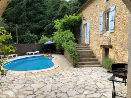 Gite in Blanquefort sur briolance for   9 •   with private pool   #65500