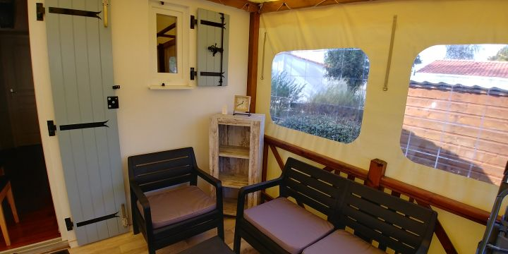 Chalet in St pierre d'oleron - Vacation, holiday rental ad # 66498 Picture #2