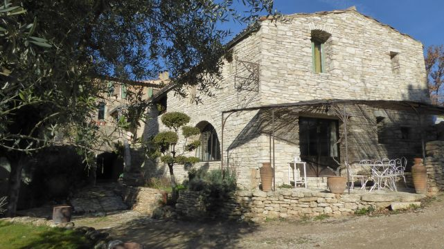 Gite in Saignon - Vacation, holiday rental ad # 66614 Picture #0