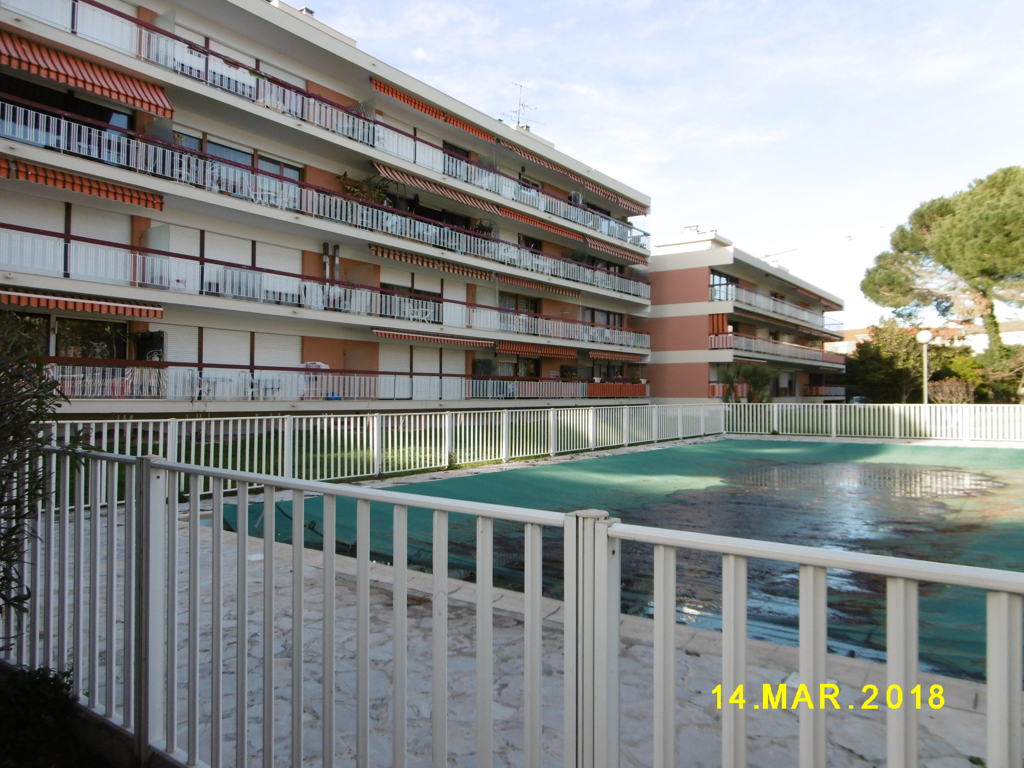Flat 6 people Frejus - holiday home  #66775