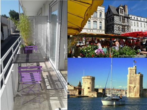 Studio in La rochelle - Vacation, holiday rental ad # 66831 Picture #6
