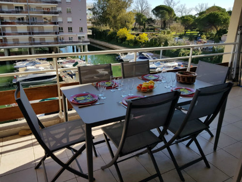 Flat in Mandelieu la Napoule - Vacation, holiday rental ad # 66936 Picture #0