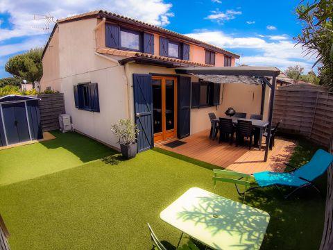 Huis Portiragnes-plage - 8 personen - Vakantiewoning  no 66986