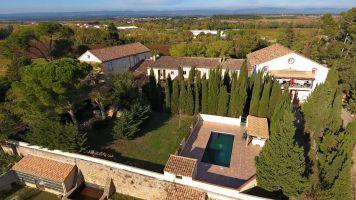 Ferme 14 personnes Carcassonne - location vacances  n°66069