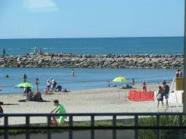 Appartement in Palavas-les-flots 34250 für  4 •   Aussicht aufs Meer