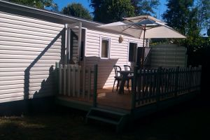 Mobil-home 4 personnes Blangy Le Chateau - location vacances  n°66484