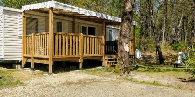 Mobil-home 8 personnes Saint Julien En Born - location vacances  n°66813