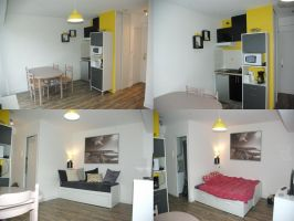 Studio La Rochelle - 3 personnes - location vacances  n°66831