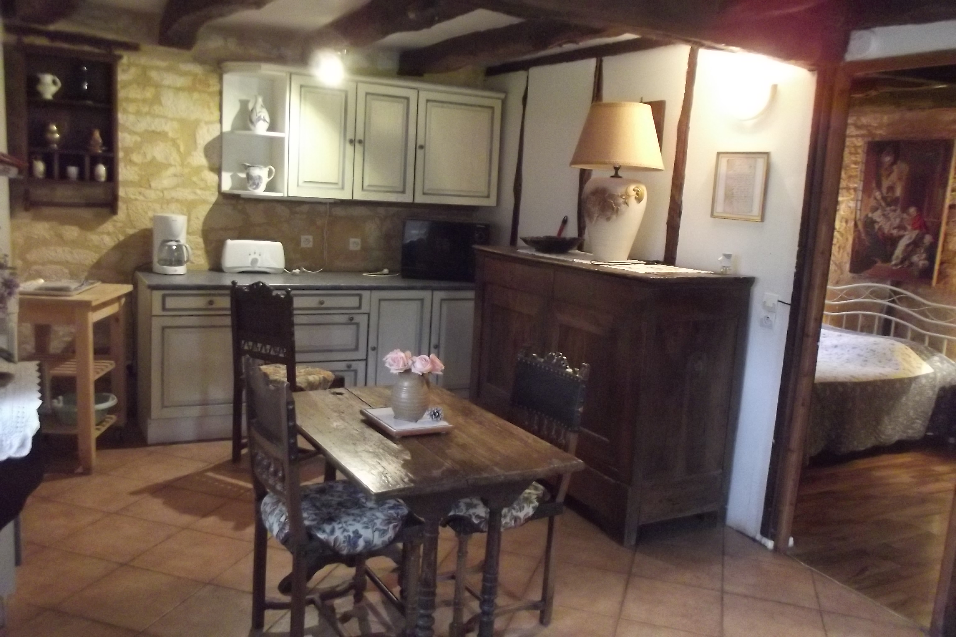 House in Salignac eyvigues for   3 •   with terrace