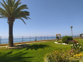 Flat in Mijas for   4 •   view on sea