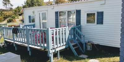 Mobile home in Saint martin en campagne for   6 •   private parking