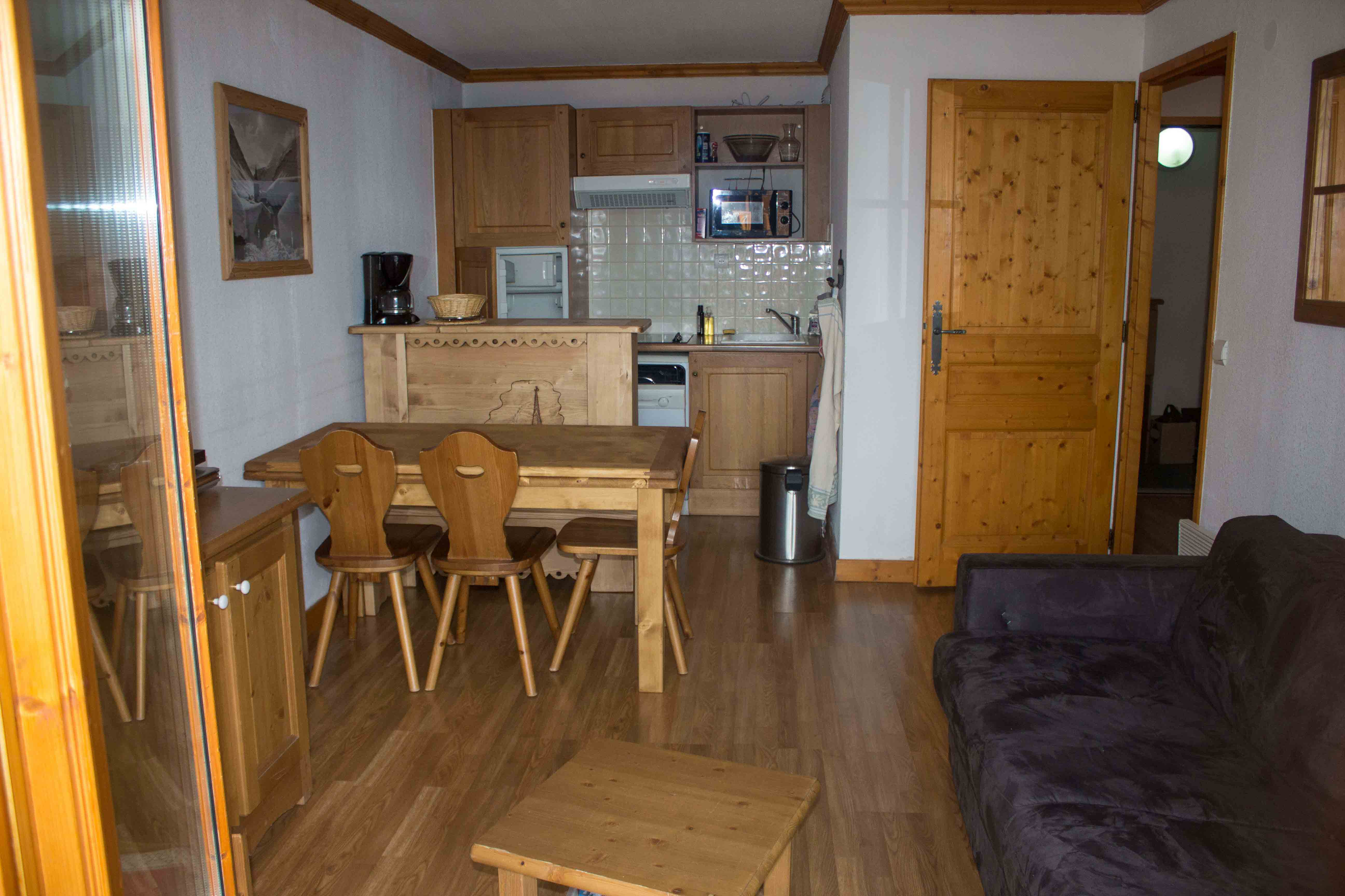 Appartement à Valloire pour  9 •   avec balcon
