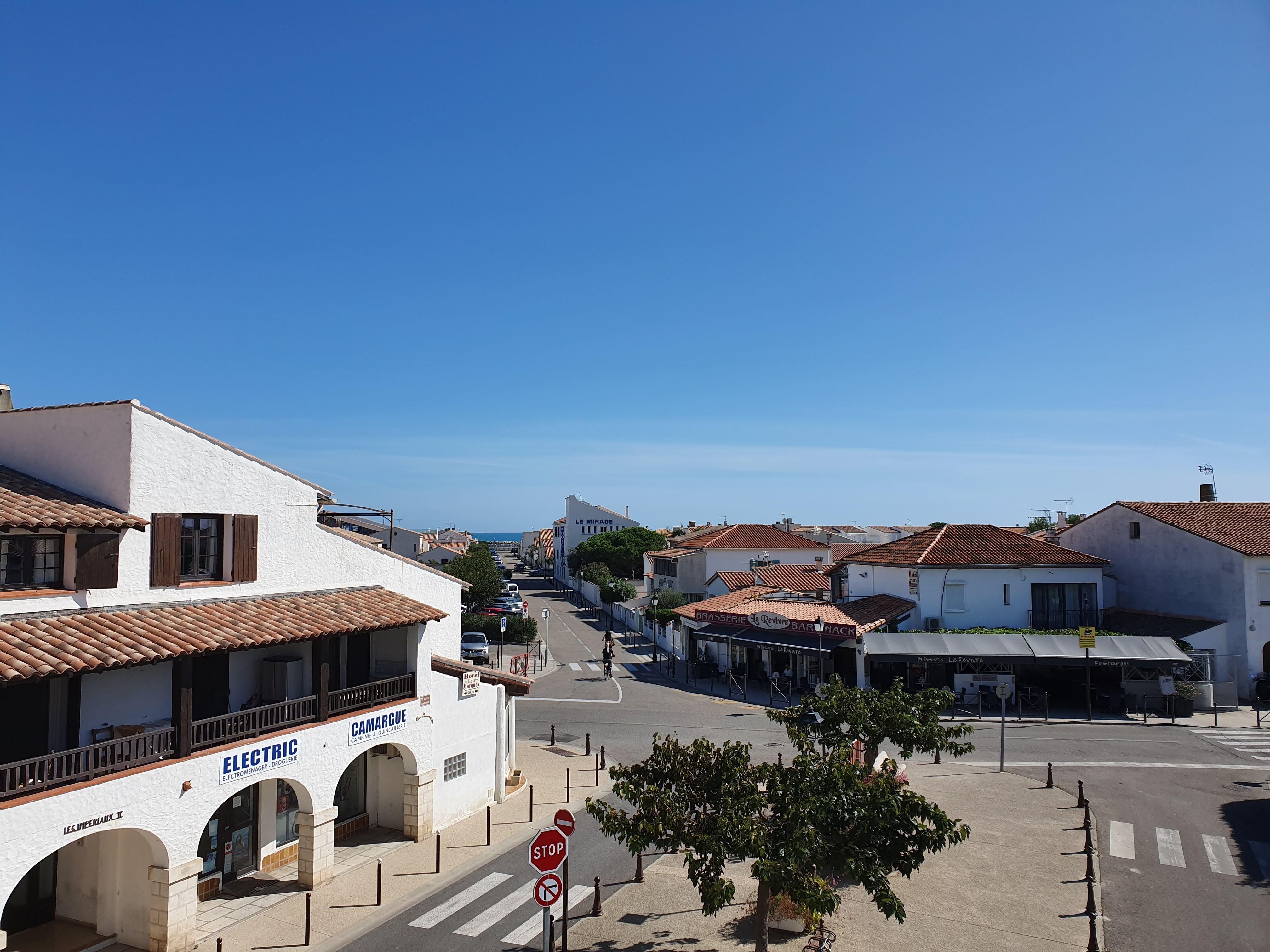 Saintes-maries-de-la-mer -    vista al mar