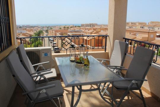 Appartement in Punta prima voor  4 •   uitzicht op zee