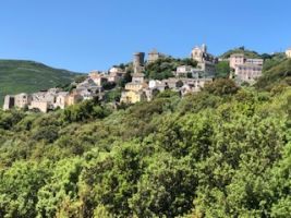 House in Rogliano for   3 •   view on sea