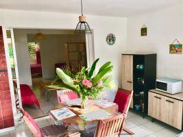 Appartement in Anse a l ane für  2 •   Privat Parkplatz