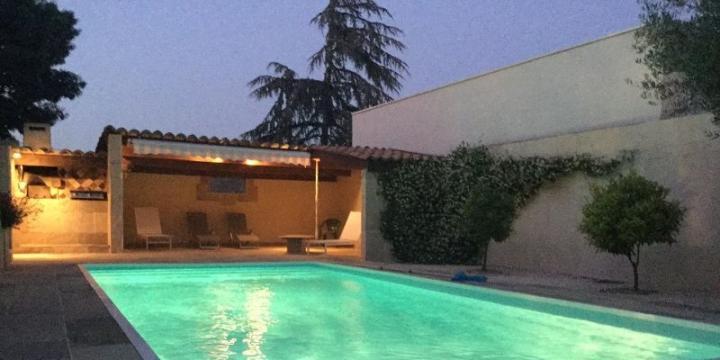 Haus in Marseillan für  8 •   mit privat Schwimmbad