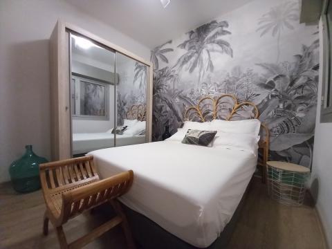 Appartement à La saline-les-bains pour  6 •   2 chambres