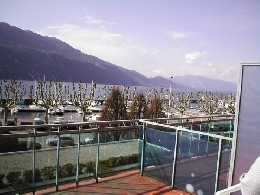 Aix les bains -    uitzicht op meer