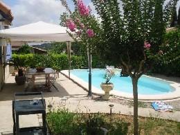 Maison 5 personnes Proximité Montpellier - location vacances  n°18965