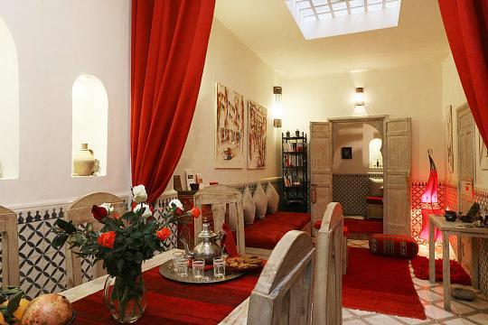 Casa en Marrakech para  8 •   4 dormitorios
