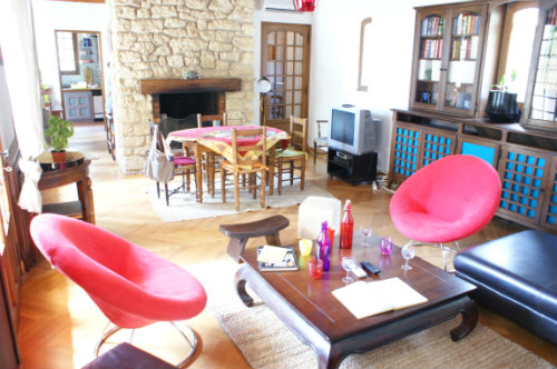 Maison St Hippolyte Le Graveyron - 15 personnes - location vacances  n°19421