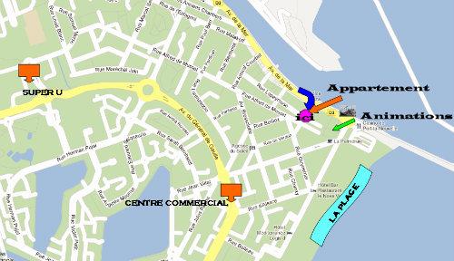 Appartement Port La Nouvelle - 4 personnes - location vacances  n°19708