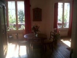 Appartement Paris - 3 personnes - location vacances  n°19124