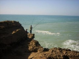 Agadir -    vista al mar