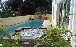 Gite à Bois de nèfles st paul pour  5 •   avec piscine partagée