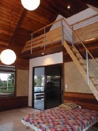 Maison à Faa'a iles du vent pour  3 •   avec balcon