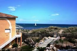 Appartement Marseillan-plage - 6 personnes - location vacances  n°19646