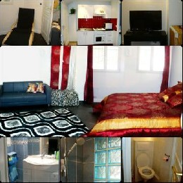 Bed and Breakfast 4 people Paris - holiday home  #19746