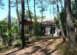 Maison à Lege cap-ferret pour  8 •   avec terrasse