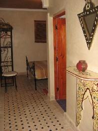 Chambre d'hôtes  Chambre Terrasse - 3 personnes - location vacances  n°19874