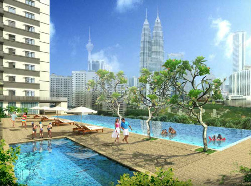 Flat in Kuala Lumpur - Vacation, holiday rental ad # 20148 Picture #3