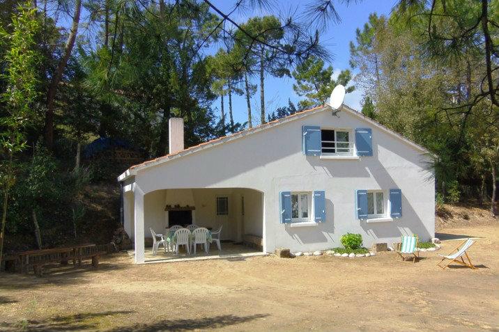 Maison à St jean de monts pour  5 •   avec terrasse