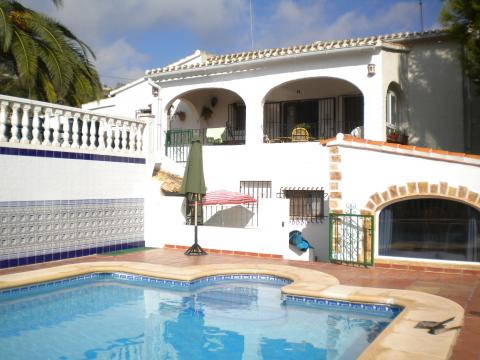 House in Benissa - Vacation, holiday rental ad # 20642 Picture #0