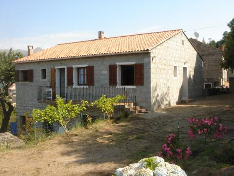 House in Zonza - Vacation, holiday rental ad # 20949 Picture #4