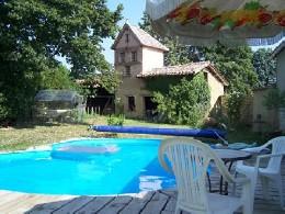 Huis in Vazerac voor  10 •   met privé zwembad   no 20113