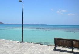 Corralejo -    vista al mar