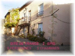 Gite Tourtouse - 9 people - holiday home  #20995