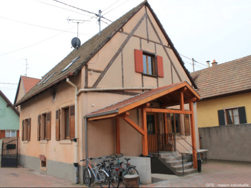 House in Scherwiller - Vacation, holiday rental ad # 21115 Picture #0