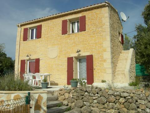 House in La verdiere for   6 •   with private pool