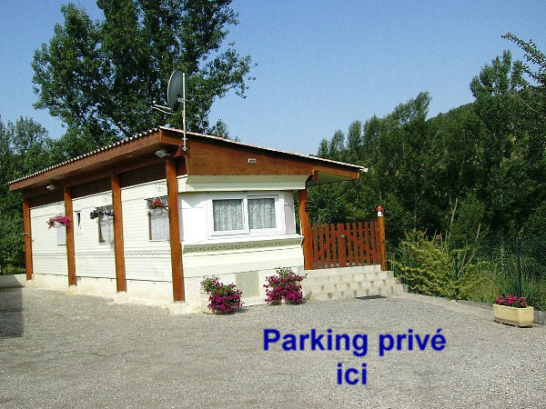 Mobil-home Sourribes - 5 personnes - location vacances  n°21907