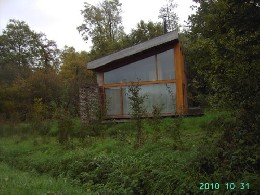 Chalet in Ieper heuvelland for   5 •   view on lake