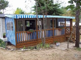 Mobile home in Fromentine for   6 •   animals accepted (dog, pet...)